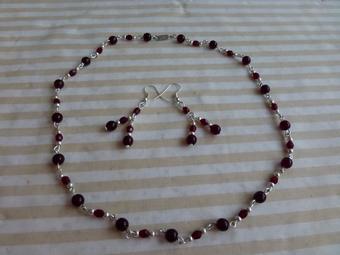 ketlování, korálky, korálkování, náušnice, náramek, náhrdelník, šperky